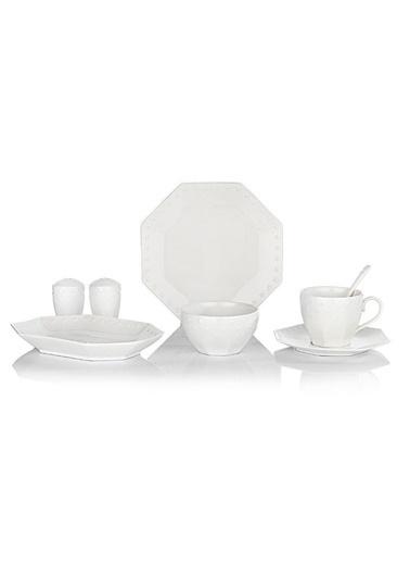Schafer schafer-byz02 Schafer Blanco 32 Parça Kahvaltı Takımı Beyaz-02 Renkli